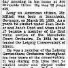 "New York Times: January 28, 1943, ""Philip Mittell, 78, Teacher of Violin"""