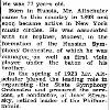 New York Times: August 28, 1947, 'Jacob Altschuler, Set Up Orchestras""